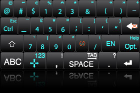Numeryczna wersja interfejsu Swype (źródło: www.swypeinc.com)